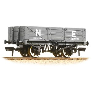 Bachmann 37-069 5 Plank Wagon Wooden Floor NE Grey
