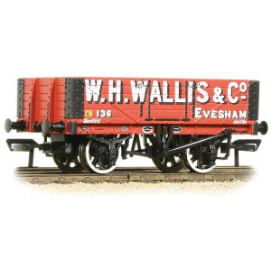 Bachmann 37-072 5 Plank Wagon Wooden Floor W.H. Wallis & Co.