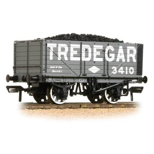 Bachmann 37-091 7 Plank End Door Wagon Tredegar with Load