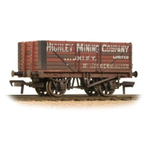 Bachmann 37-093 7 Plank End Door Wagon Highley Mining Company Ltd Weathered