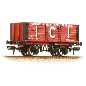 Bachmann 37-115 7 Plank Fixed End Wagon I.C.I. Chance & Hunt Ltd