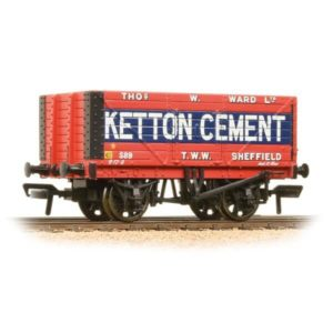 Bachmann 37-134B 8 Plank End Door Wagon Ketton Cement