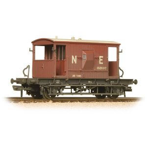 Bachmann 37-529B 20T Brake Van LNER Oxide Weathered