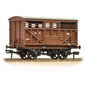 Bachmann 37-708A 12T LMS Cattle Wagon LMS Brown