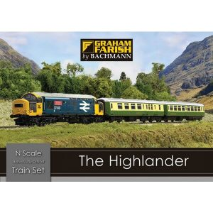 Graham Farish 370-048 The Highlander – Digital Train Set