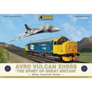 Graham Farish 370-375 Avro Vulcan XH558 Train Pack
