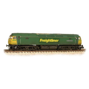 Graham Farish 371-651A Class 57 57008 'Freightliner Explorer' Freightliner Weathered