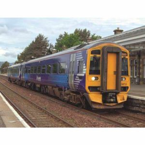 Graham Farish 371-851 Class 158 158711 2 Car DMU ScotRail