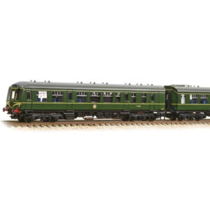 Graham Farish 371-887DS Class 108 3 Car DMU BR Green with Speed Whiskers DCC Sound Fitted