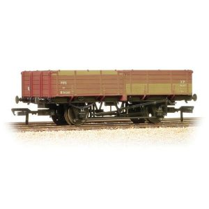 Bachmann 38-700A 12T Pipe Wagon BR Bauxite Early Weathered