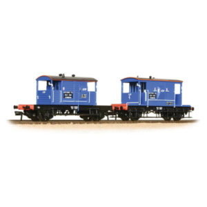 Bachmann 38-990 20T Brake Van & SR Pill Box Twin Pack Network South East