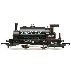 Hornby R3064 Class 264 'Pug' 56025 'Smokey Joe' BR Black RailRoad Range
