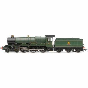 Hornby R3383TTS Class 4073 (Castle) 5050 'Earl of St. Germans' BR Lined Green with Early Crest TTS Sound Fitted