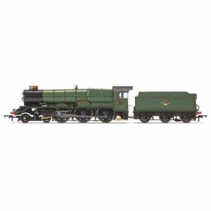 Hornby R3384TTS Class 6000 6006 'King George I' BR Lined Green with Late Crest with TTS Sound Fitted