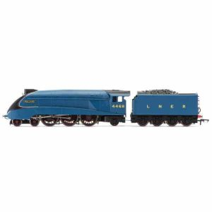 Hornby R3395TTS Class A4 4468 'Mallard' LNER Garter Blue TTS Sound Fitted RailRoad Range