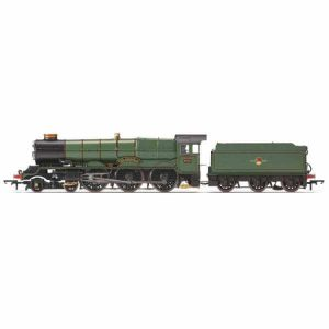Hornby R3409 Class 6000 6002 'King William IV' BR Lined Green with Late Crest