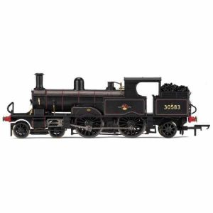 Hornby R3423 SR Adams Class 415 30583 BR Black with Late Crest