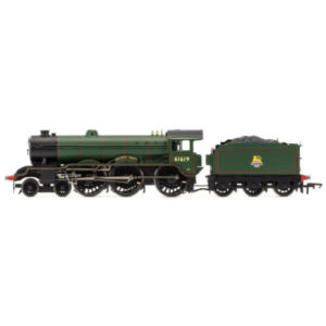 Hornby R3448 Class B17 61619 'Wellbeck Abbey' BR Lined Green with Early Crest