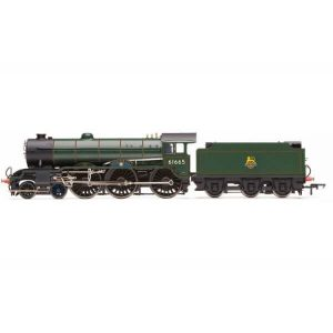 Hornby R3523 Class B17 61665 'Leicester City' BR Lined Green with Early Crest