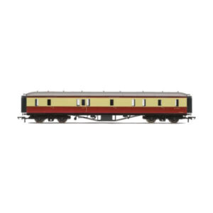 Hornby R4404B Hawksworth Passenger Brake BR Crimson and Cream