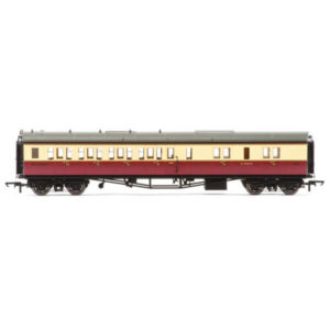 Hornby R4686A Collett Bow Ended Corridor Brake Third (LH) BR Crimson and Cream