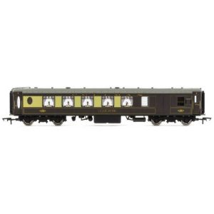Hornby R4693 Pullman All Steel K Type Third Brake Parlour Car No. 78 Umber and Cream