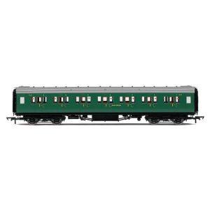 Hornby R4734 Maunsell Corridor First Class 7406 'Set 328' SR Malachite Green