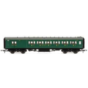 Hornby R4736 Maunsell Corridor Brake Third Class 'Set 328' SR Malachite Green