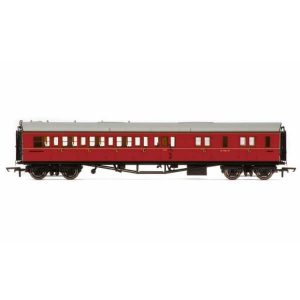 Hornby R4764 Collett Bow Ended Corridor Brake Third (RH) BR Maroon
