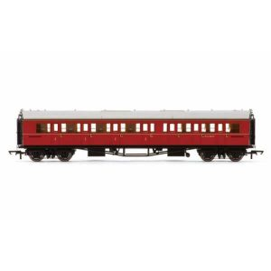 Hornby R4766 Collett Bow Ended Corridor Composite (LH) BR Maroon