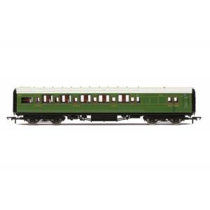 Hornby R4768A Maunsell Corridor Brake Third Class 'Set 243' SR Olive Green