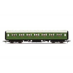 Hornby R4770 Maunsell Corridor First Class 7412 'Set 243' SR Olive Green