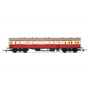 Hornby R4791 63′ Collett A30 Autocoach BR Crimson and Cream