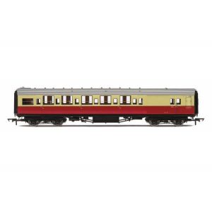 Hornby R4796 Maunsell Corridor Brake Third BR Crimson and Cream