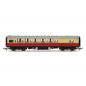 Hornby R4796A Maunsell Corridor Brake Third BR Crimson and Cream