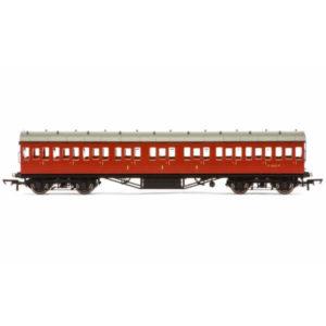 Hornby R4799 57′ Stanier Non-Corridor Composite BR Crimson