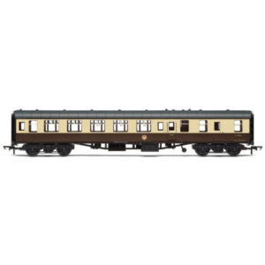 Hornby R4822 BR Mk1 BSO Brake Second Open BR Chocolate and Cream