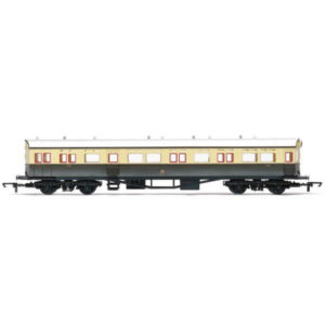 Hornby R4831 63′ Collett A30 Autocoach GWR Chocolate and Cream
