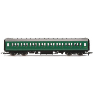 Hornby R4834 Maunsell Corridor Second BR Green (SR)