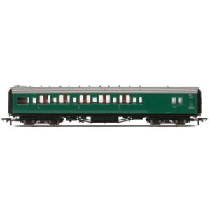 Hornby R4836 Maunsell Corridor Six Compartment Brake Second 'Set 230' BR Green (SR)