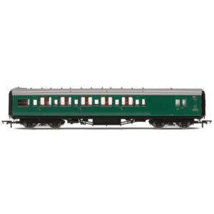 Hornby R4838 Maunsell Corridor Six Compartment Brake Second 'Set 230' BR Green (SR)