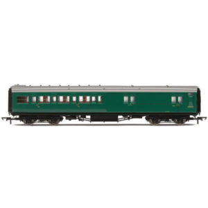 Hornby R4840 Maunsell Corridor Four Compartment Brake Second 'Set 399' BR Green (SR)