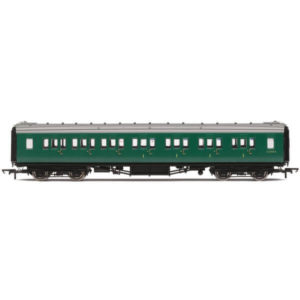 Hornby R4842 Maunsell Corridor Composite 'Set 399' BR Green (SR)