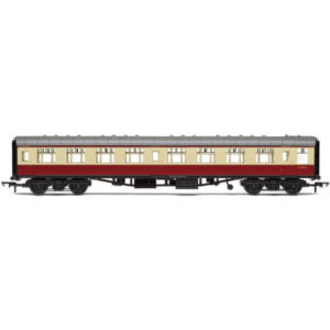Hornby R4846 BR Mk1 SK Second Corridor BR Crimson and Cream