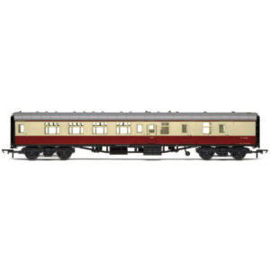 Hornby R4848 BR Mk1 BSK Brake Second Corridor BR Crimson and Cream