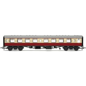 Hornby R4849 BR Mk1 SO Second Open BR Crimson and Cream