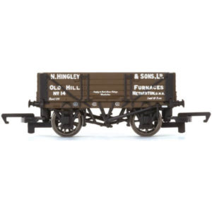 Hornby R6745 4 Plank Wagon Hingley & Sons Ltd