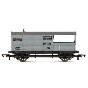 Hornby R6835 AA15 20T 'Toad' Brake Van BR Grey