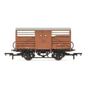 Hornby R6839 Dia. 1529 Cattle Wagon BR Bauxite