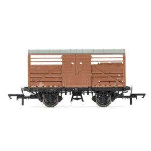Hornby R6840 Dia. 1530 Cattle Wagon BR Bauxite